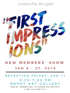 First Impressions Jan 2018