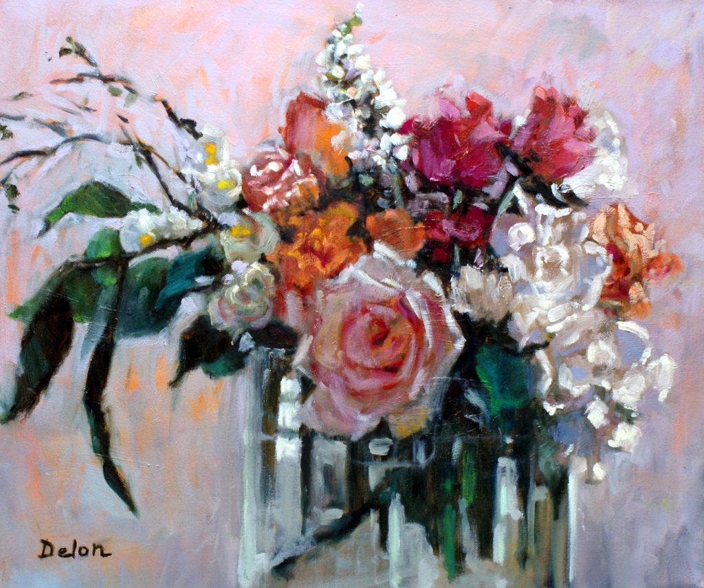 Wedding Bouquet - 20x24