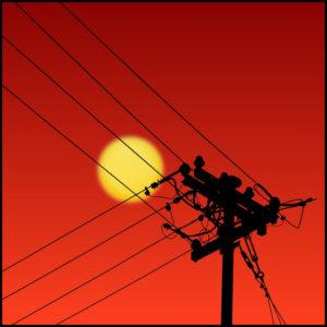 Joe Bonita sun and silhouette