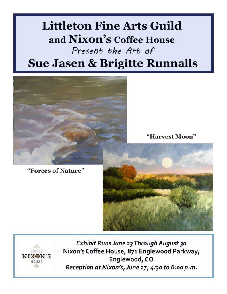Littleton Fine Arts Guild and Nixon's Coffee House