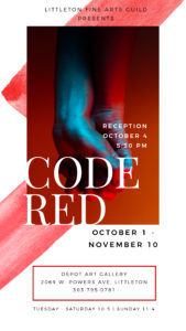 Code Red exhibit at Depot Art Gallery
