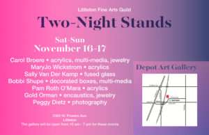 Deport Two Night Stand November 16-17