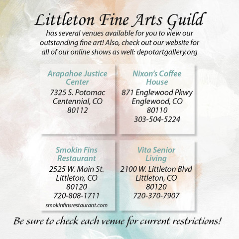 Littleton Fine Arts Guild show Venue